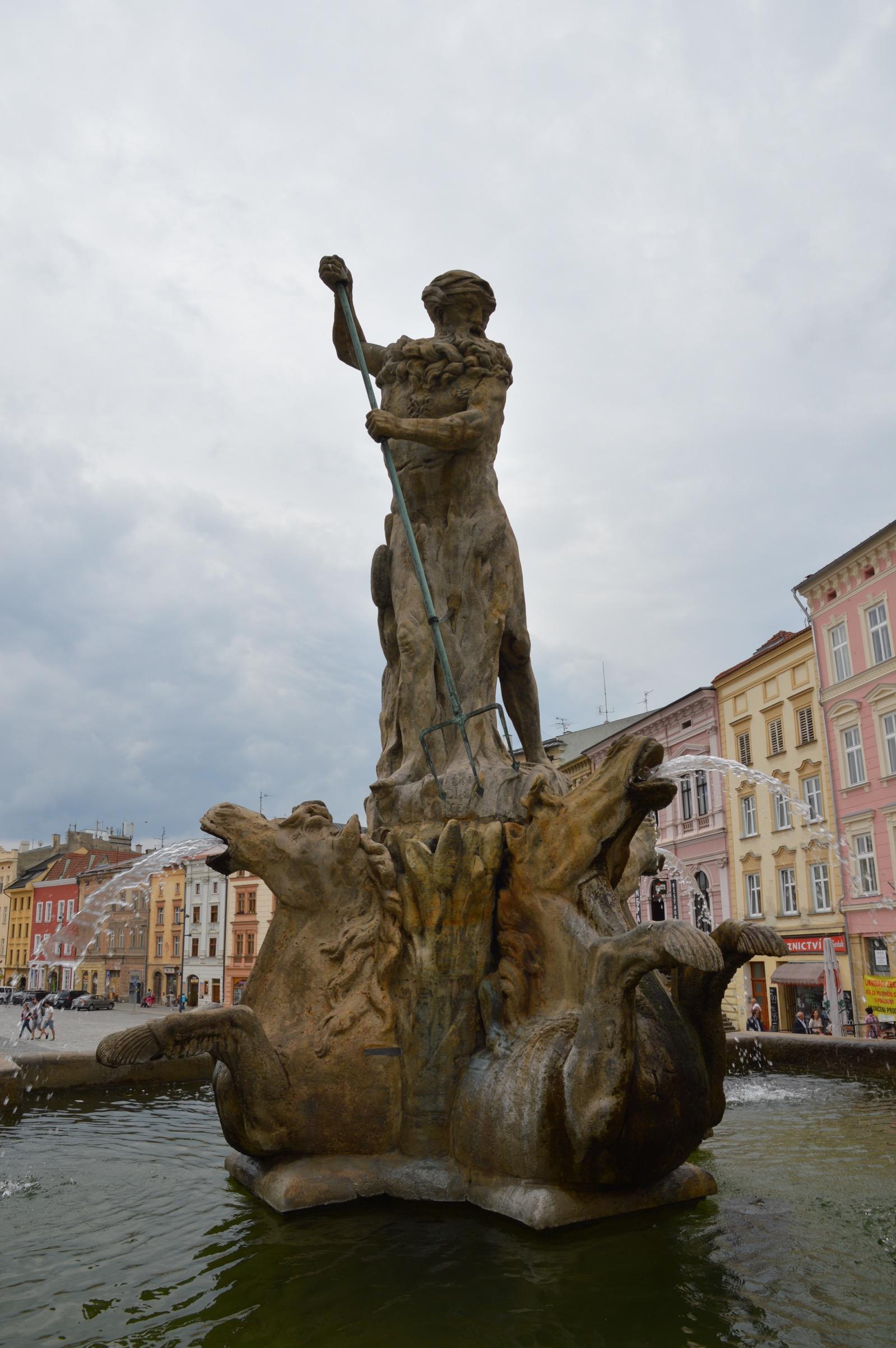 Olomouc, Czech Republic, Neptune Fountain