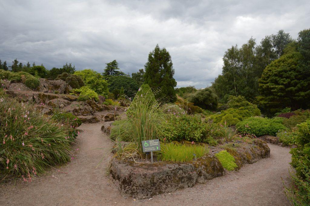 Access, Botanical Gardens, Edinburgh, Scotland