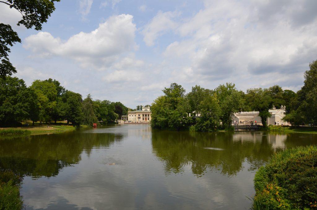 Palace on the Isle, Łazienki Park, Warsaw, Poland