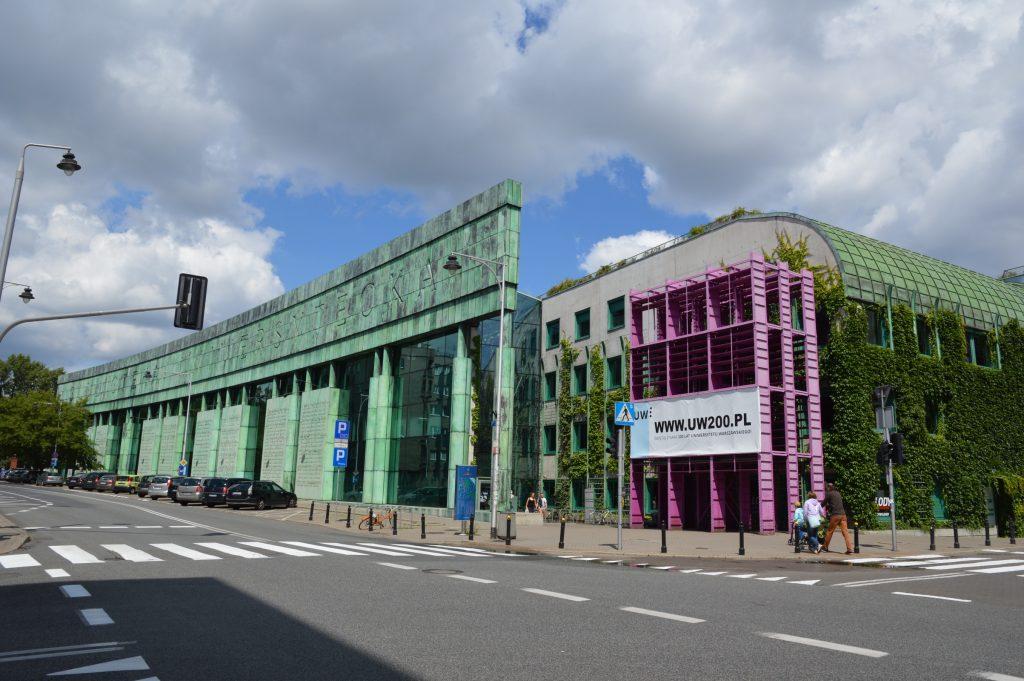 Warsaw University Library, Poland