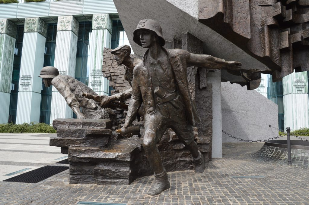 Warsaw Uprising Memorial, Poland