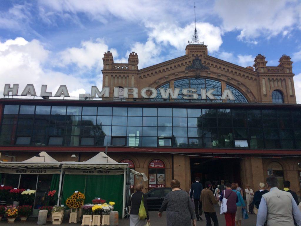 Hala Mirowska, Warsaw, Poland