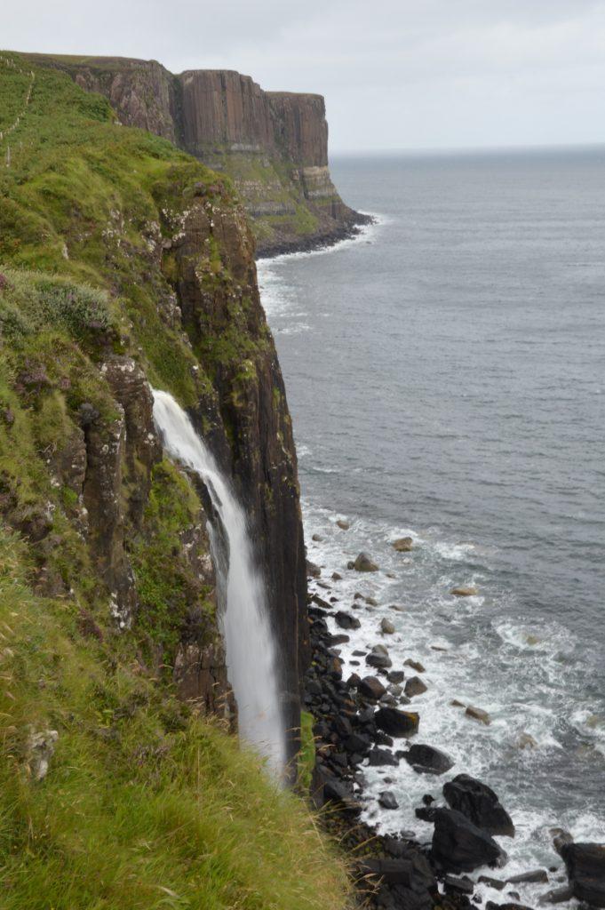 Waterfall at Kilt Rock Viewpoint, Isle of Skye, Scotland