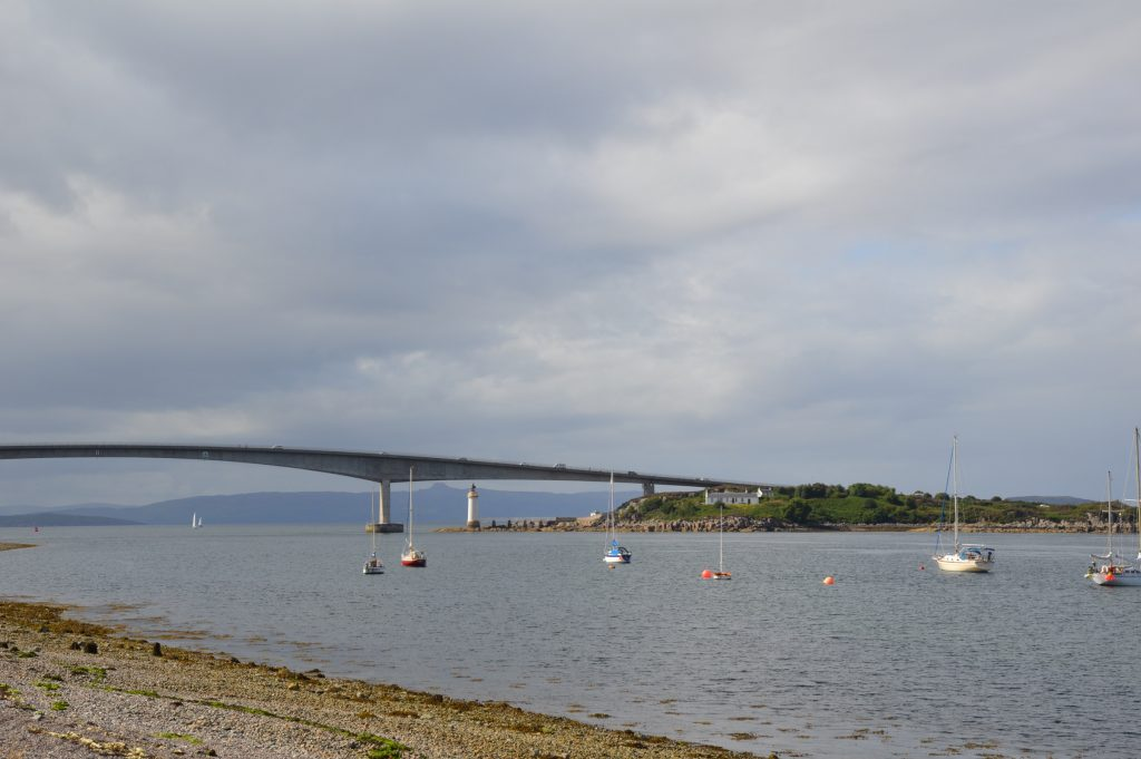 Skye Bridge, Kyleakin, Isle of Skye, Scotland