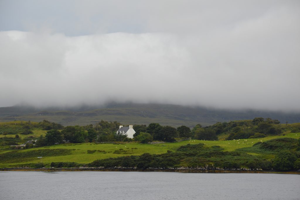 View from Dunvegan, Isle of Skye, Scotland