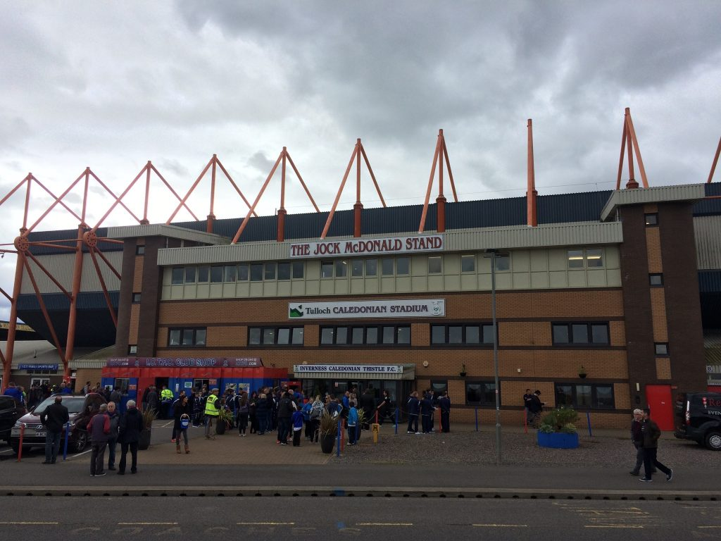Inverness Thistle Caledonian Football Club Stadium