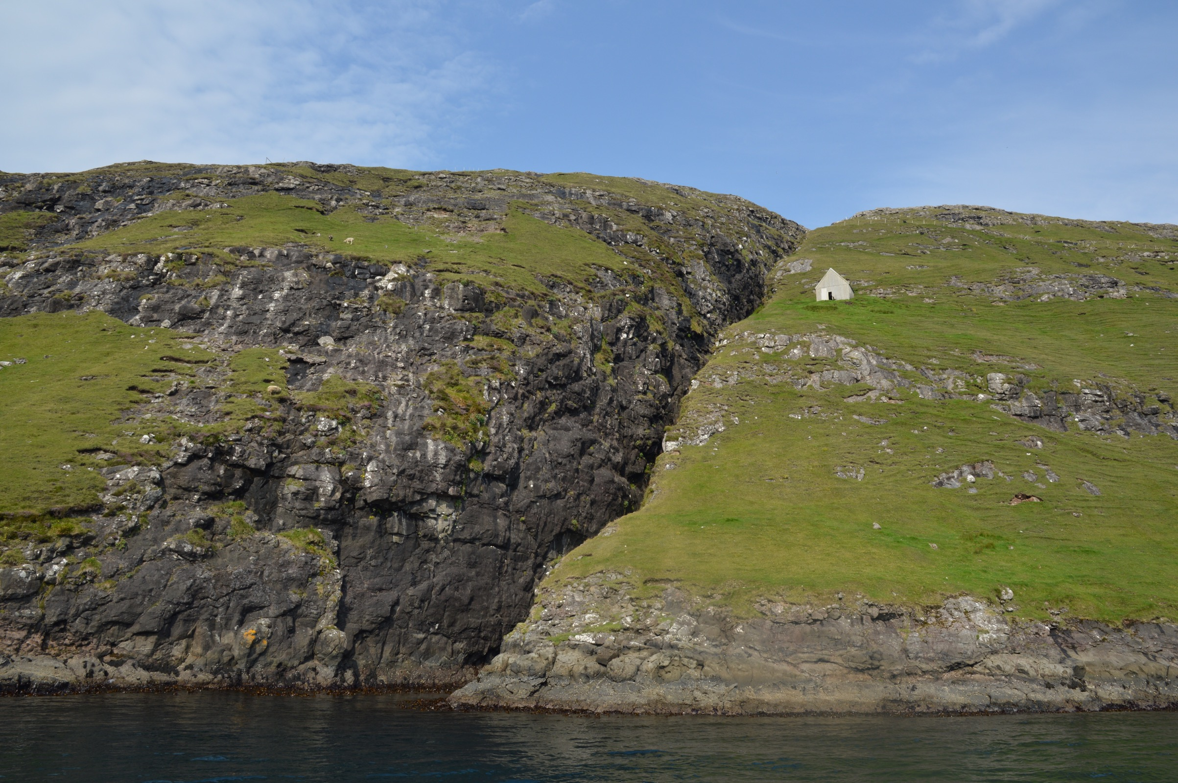 One of the pricier stops on our round the world trip: Vestmanna, Streymoy, Faroe Islands