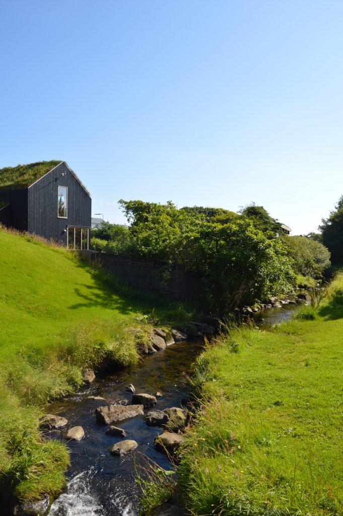 Viðarlundin Park, Tórshavn, Faroe Islands