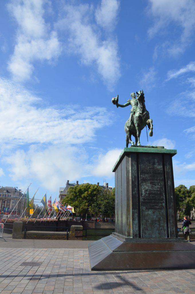 Koning Willem II statue, Den Haag, Netherlands