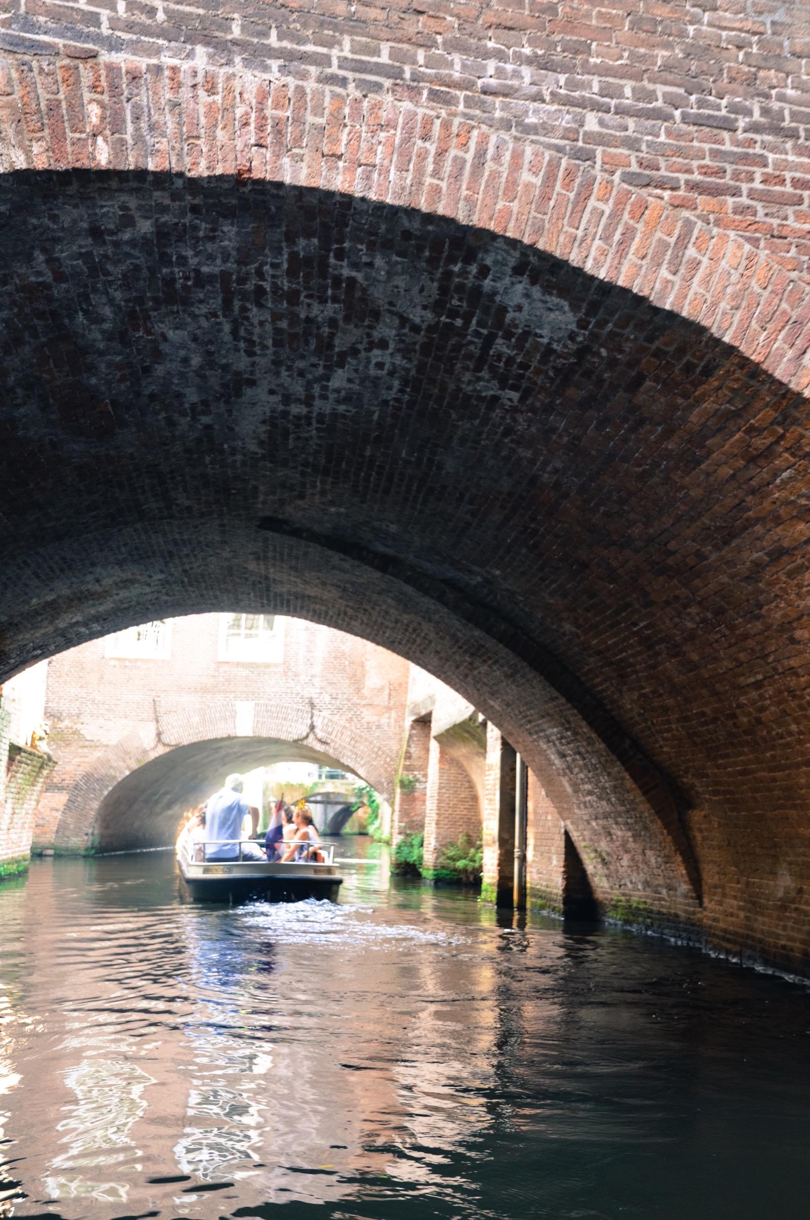 Binnendieze boat tour, Den Bosch, the Netherlands