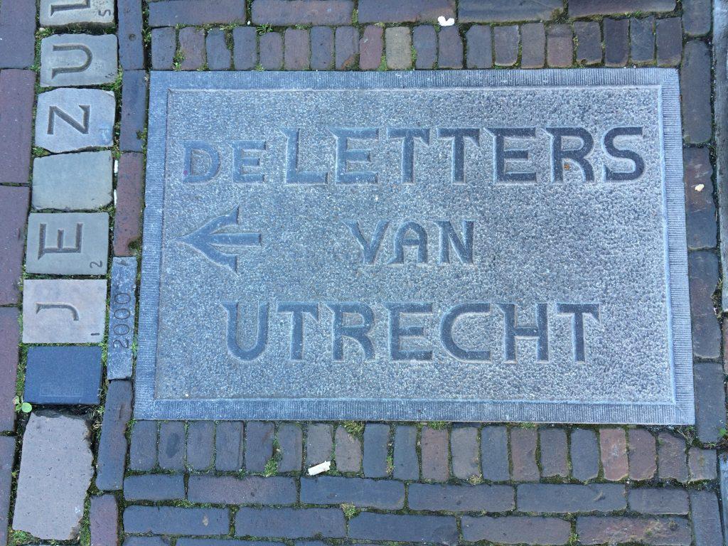Letters of Utrecht, the Netherlands