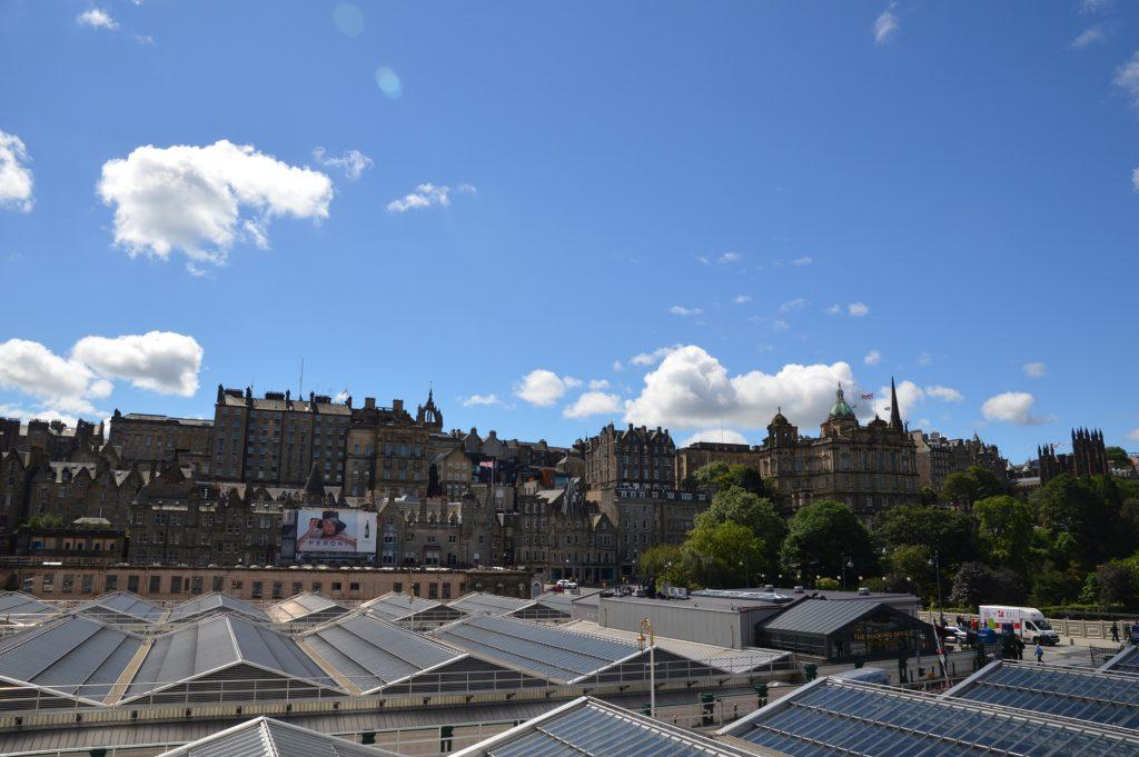 View of Old Town, Edinburgh, Scotland