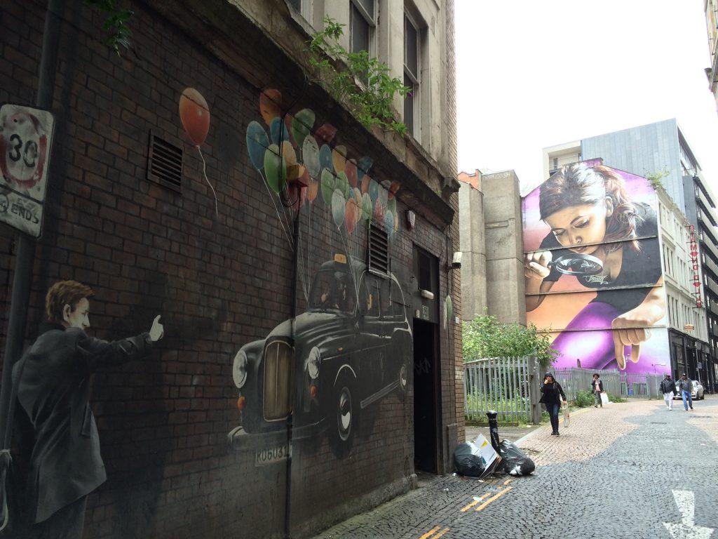 Murals, Glasgow, Scotland