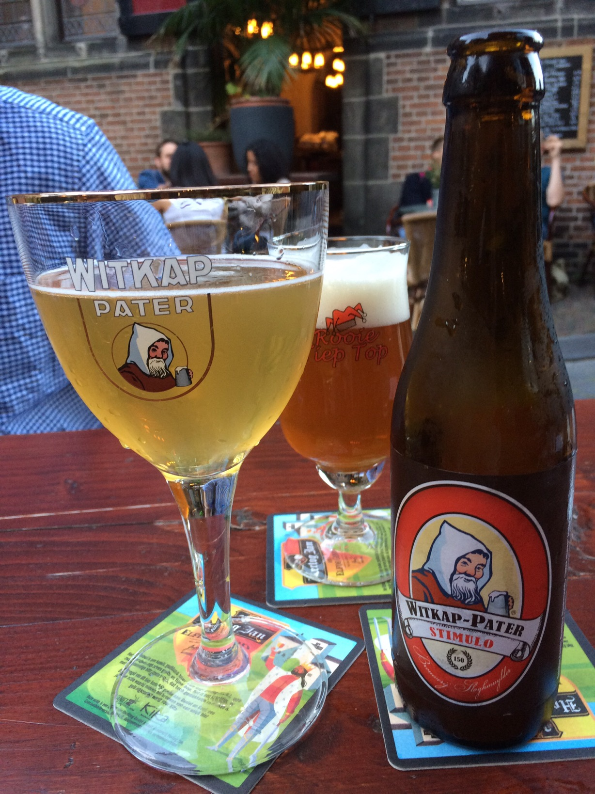 Beers, Cafe in de Blaauwe Hand, Nijmegen, the Netherlands