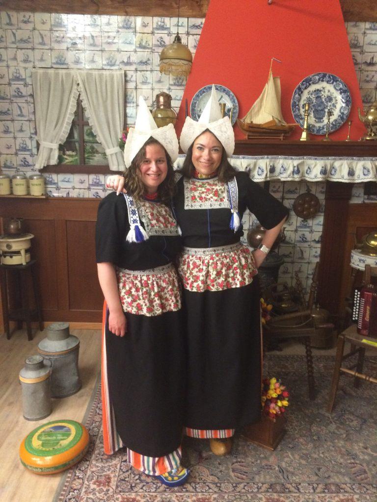 Costumes, Volendam, the Netherlands