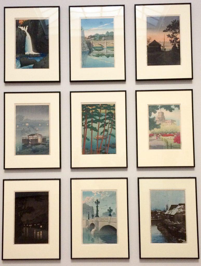Japanese prints, Rijksmuseum, Amsterdam