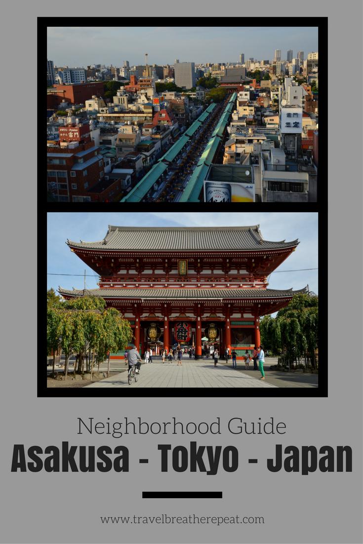 Neighborhood guide for Asakusa, Tokyo, Japan