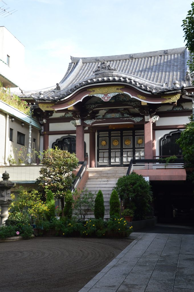 Temple in Asakusa, Tokyo, Japan