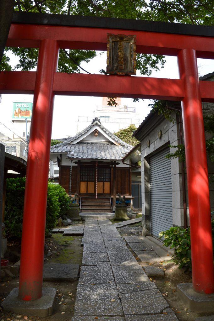 Shrine in Asakusa, Tokyo, Japan