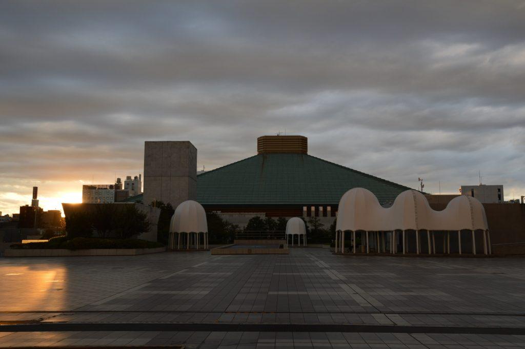 Ryōgoku Kokugikan (Sumo Hall) Tokyo, Japan