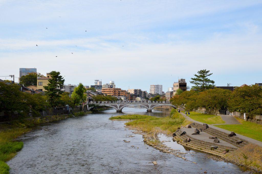 Asanogawa River, Kanazawa, Japan