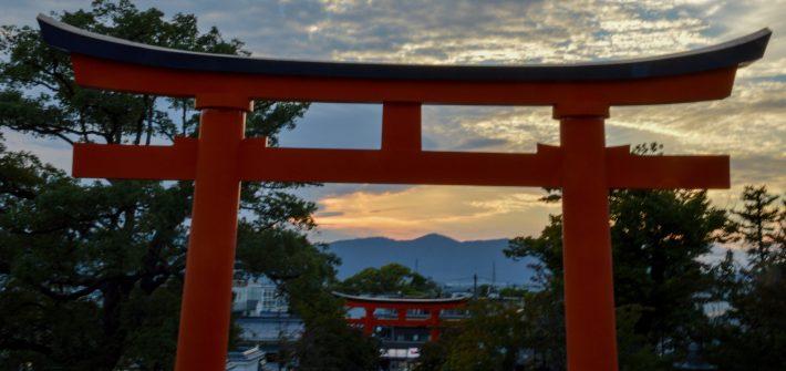Torii, Kyoto, Japan