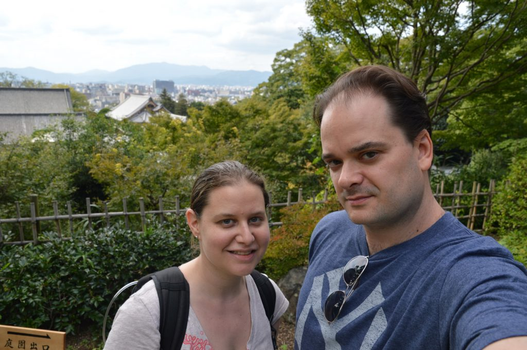 View of Kyoto from Chion-in, Japan