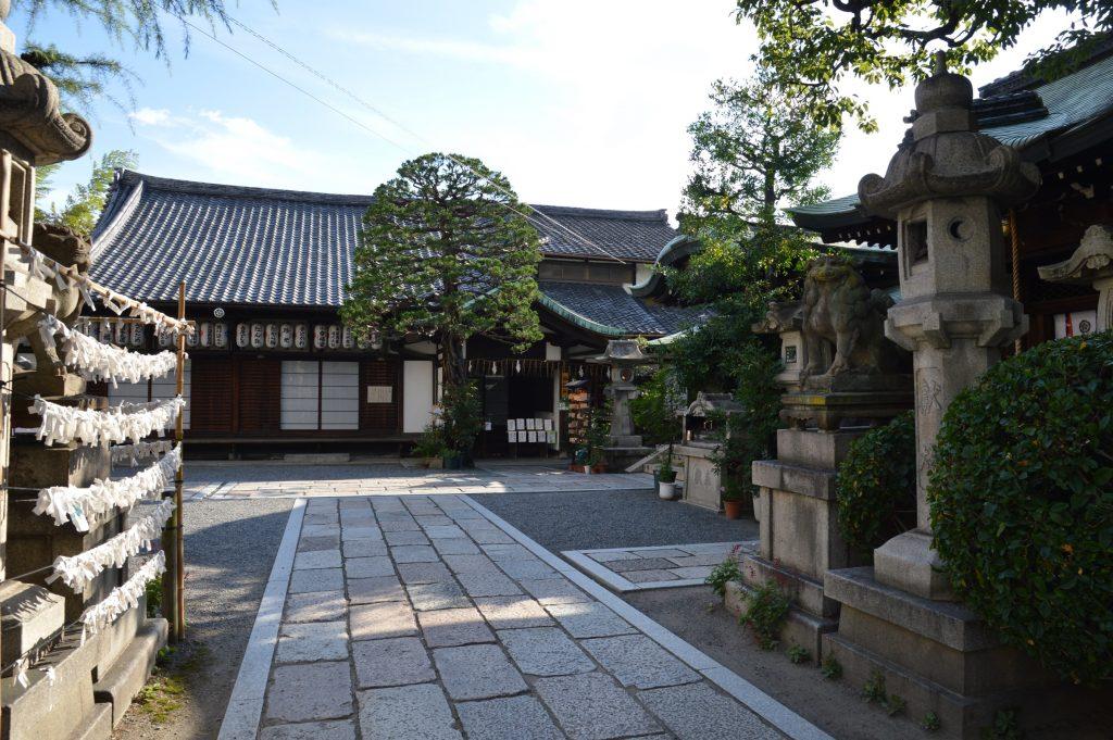 Shikinaihayabusa Shrine, Kyoto, Japan