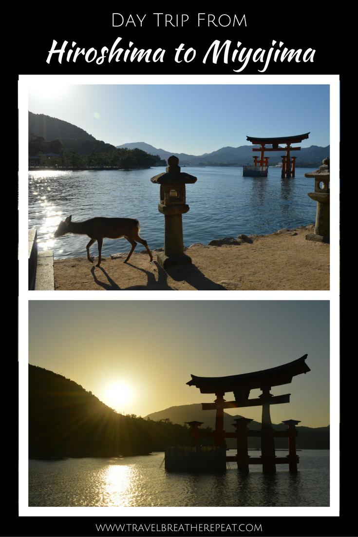 Day trip from Hiroshima to Miyajima in Japan