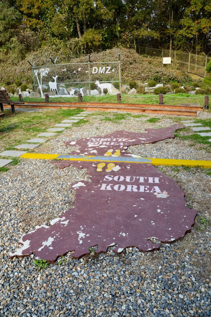 DMZ map outside the Third Inflitration Tunnel