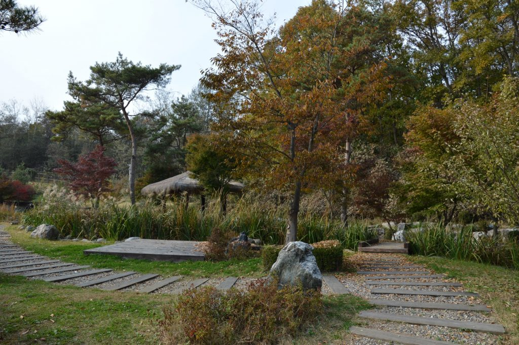 Garden outside the Third Inflitration Tunnel, DMZ