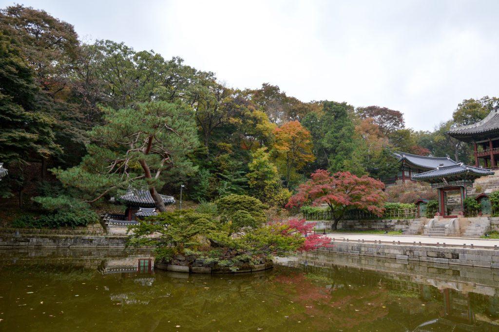 Huwon (Secret Garden) at Changdeokgung Palace, Seoul, South Korea