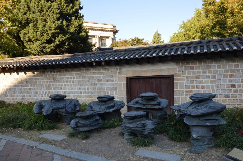 Sculpture near SeMA, Seoul, South Korea