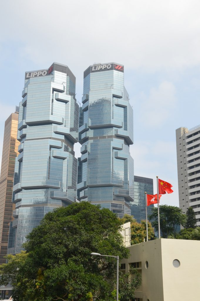 Buildings in Hong Kong