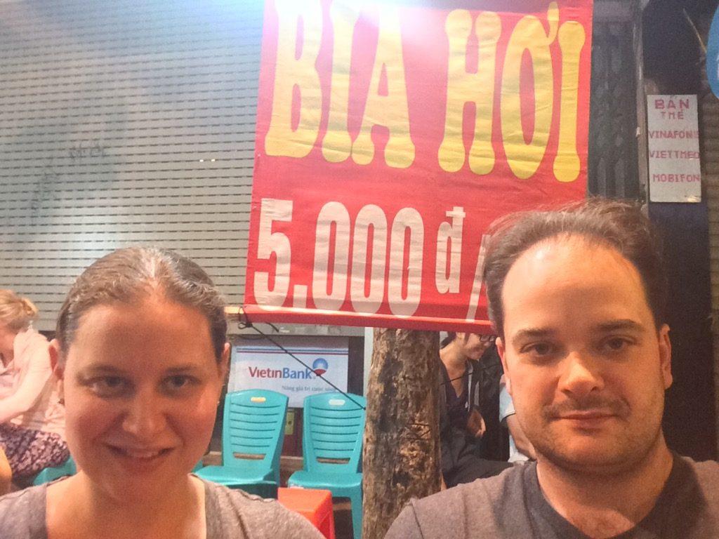 Bia hơi, Hanoi, Vietnam