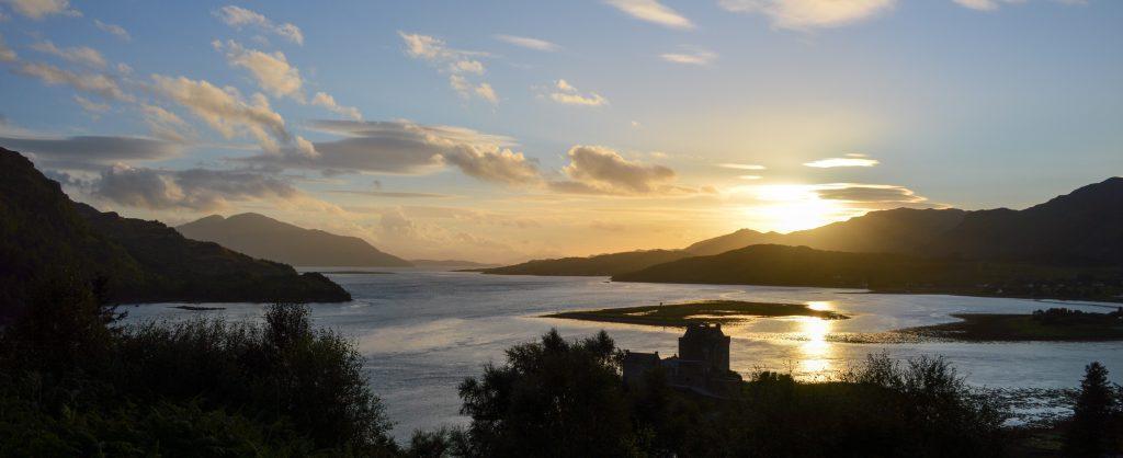 Sunset, Dornie, Scotland