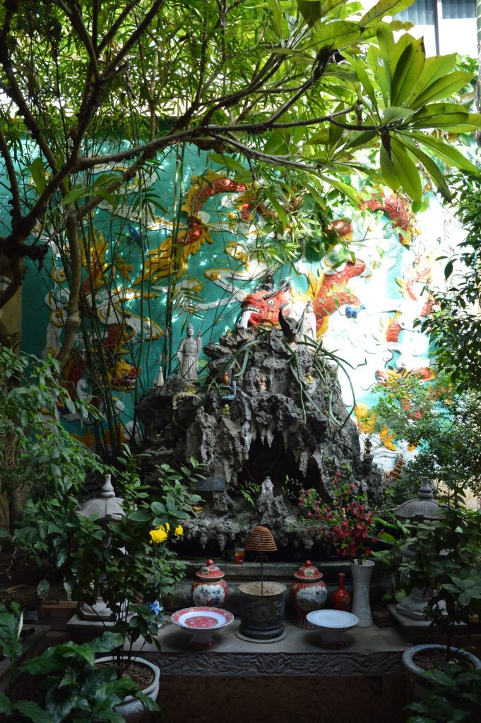 Temple in Old Quarter, Hanoi, Vietnam