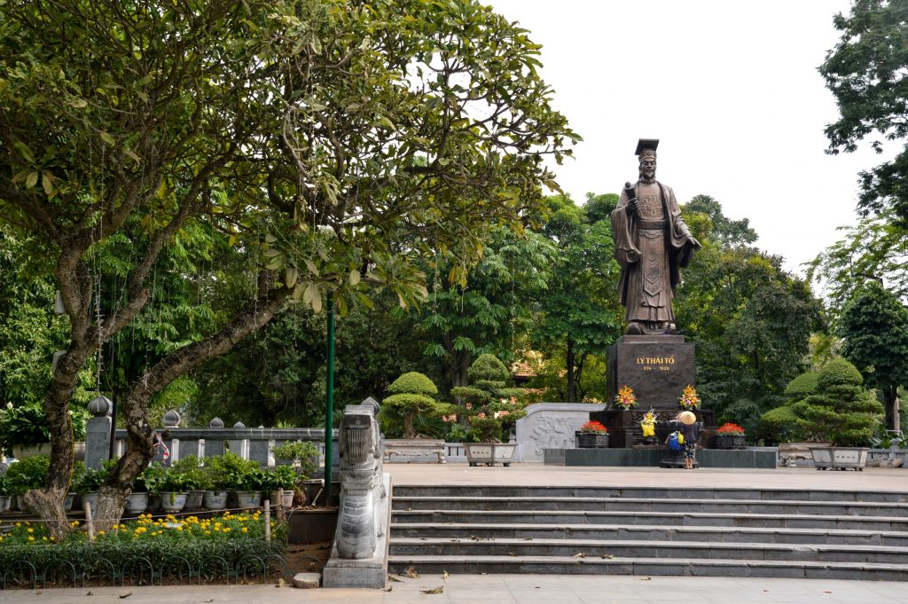 Ly Thai To statue, Hanoi, Vietnam