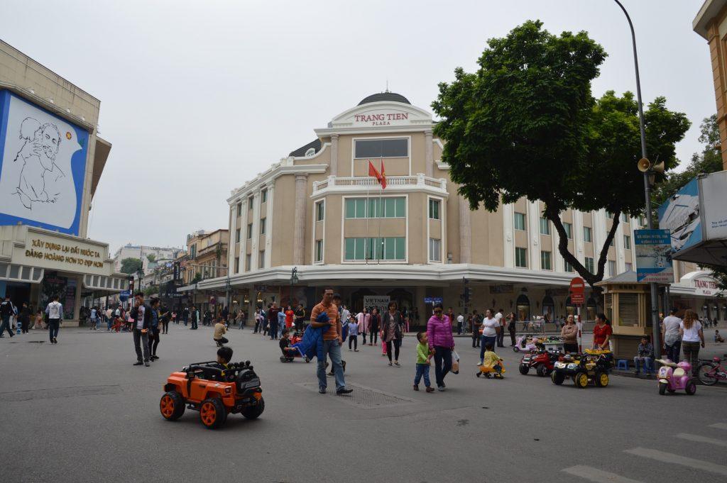 Kids rule the streets, Hanoi, Vietnam