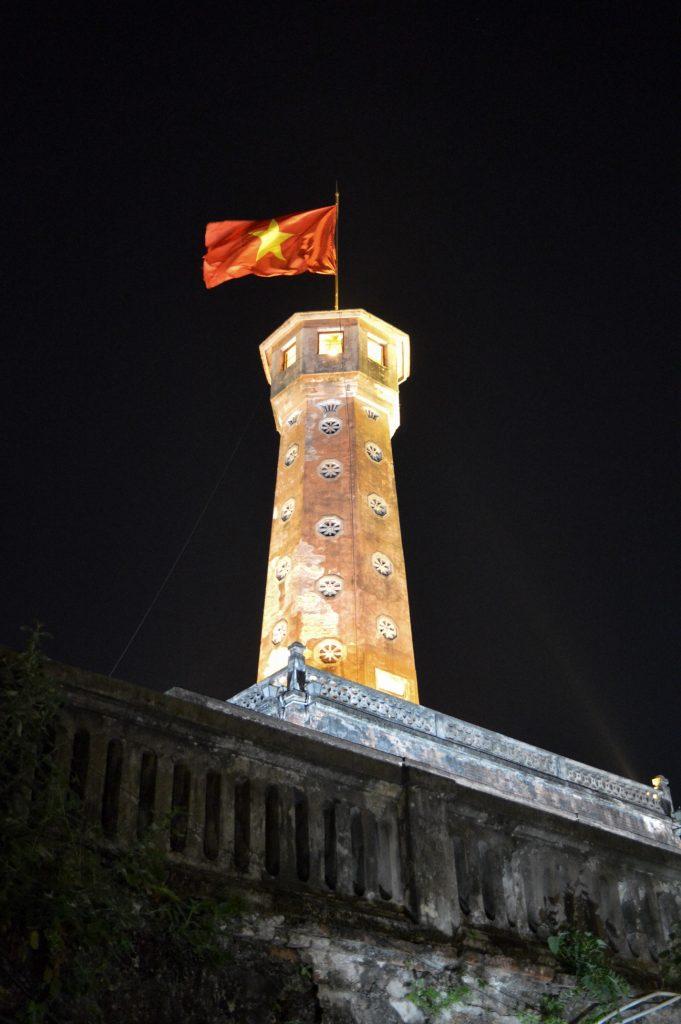 Flag Tower of Hanoi, Vietnam
