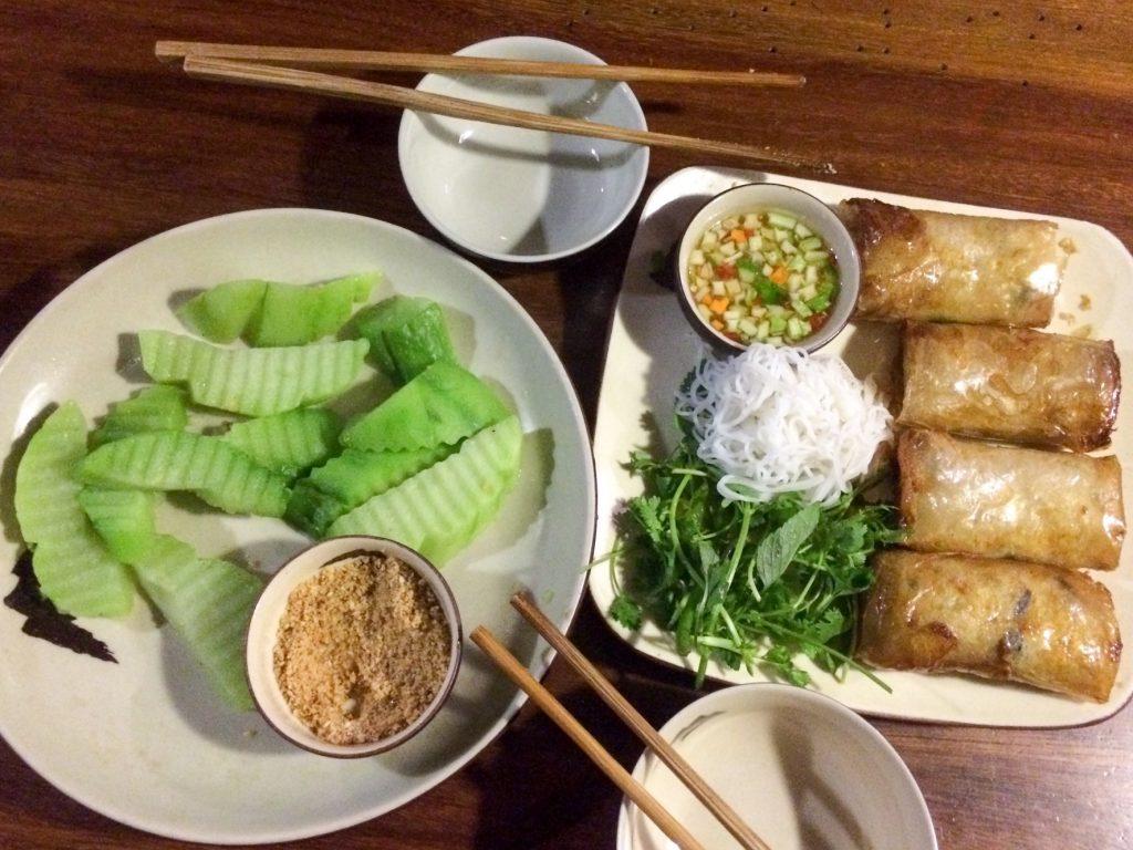 Food in Hanoi, Vietnam