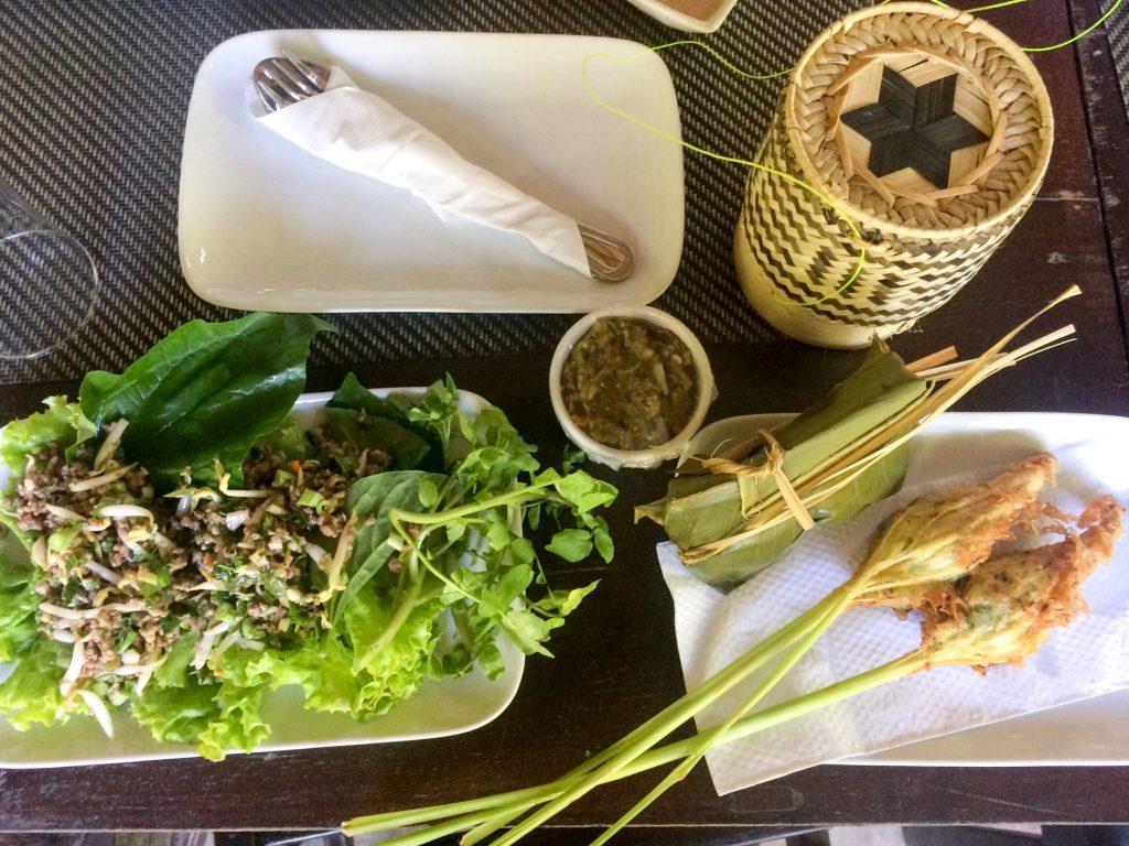 Cooking class results, Luang Prabang, Laos