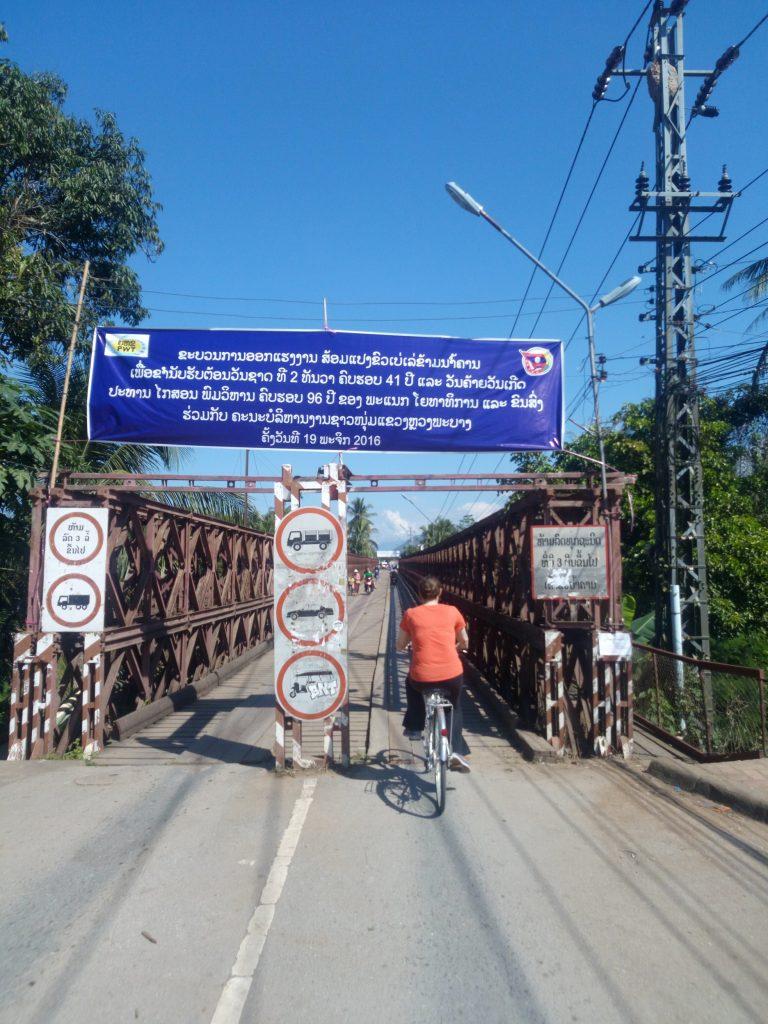 Biking in Luang Prabang, Laos