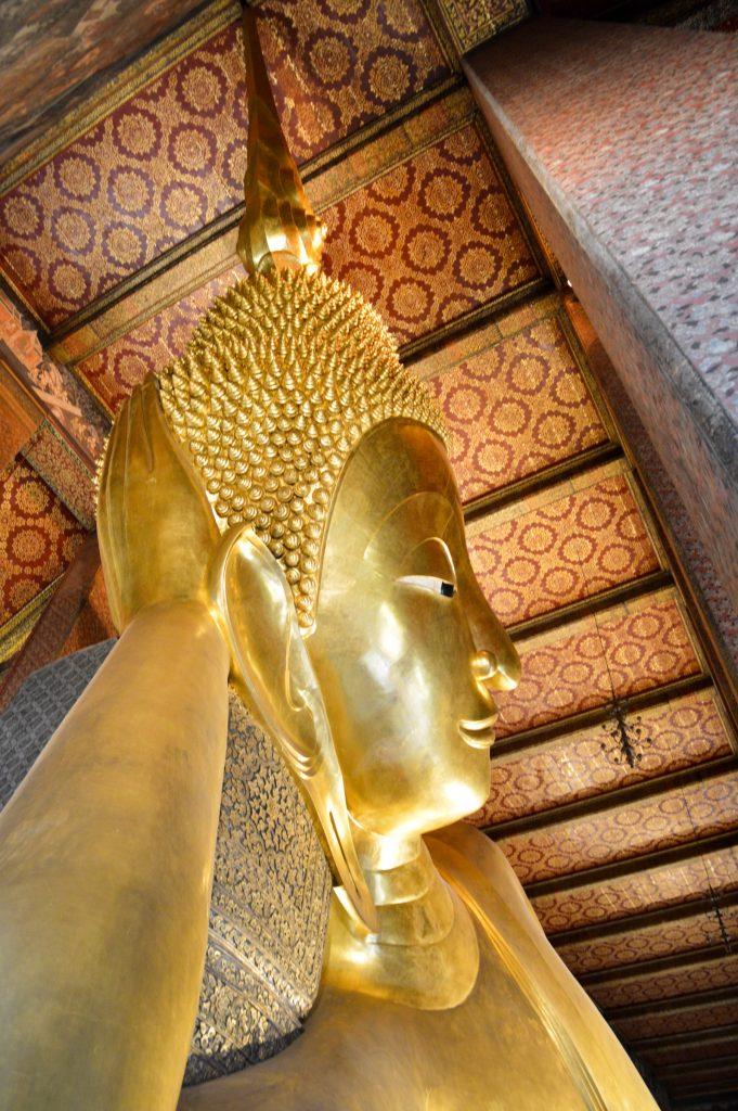 Reclining Buddha at Wat Pho, Bangkok, Thailand