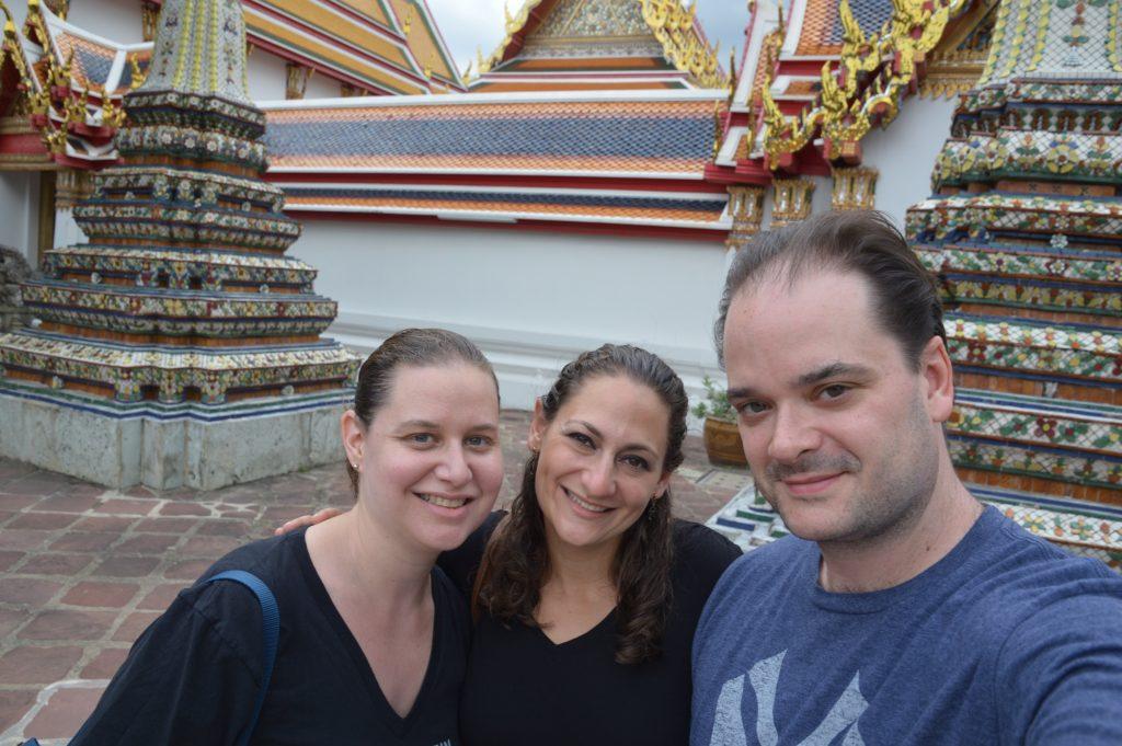 At Wat Pho, Bangkok, Thailand