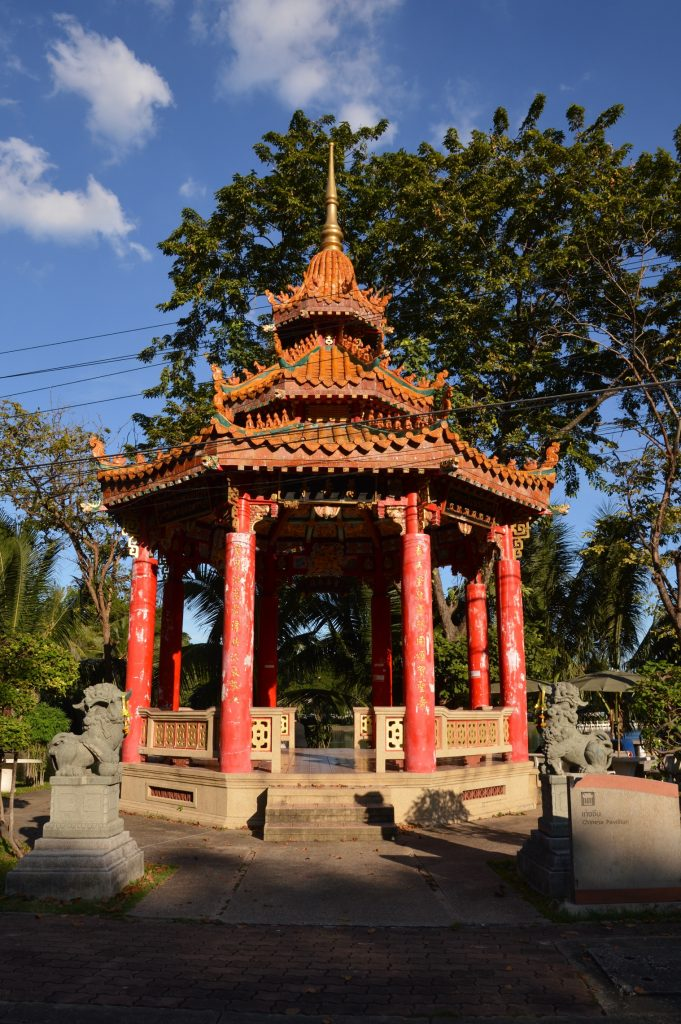 Chinese Pavilion in Lumphini Park, Bangkok, Thailand