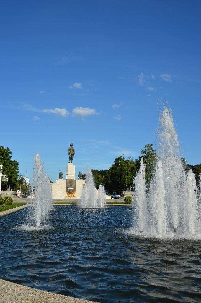 King Rama IV Monument in Lumphini Park, Bangkok, Thailand
