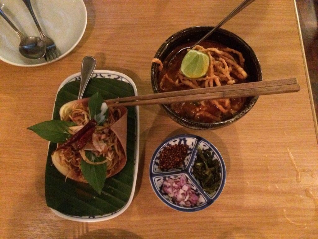 Dinner at Soul Food Mahanakorn, Bangkok, Thailand