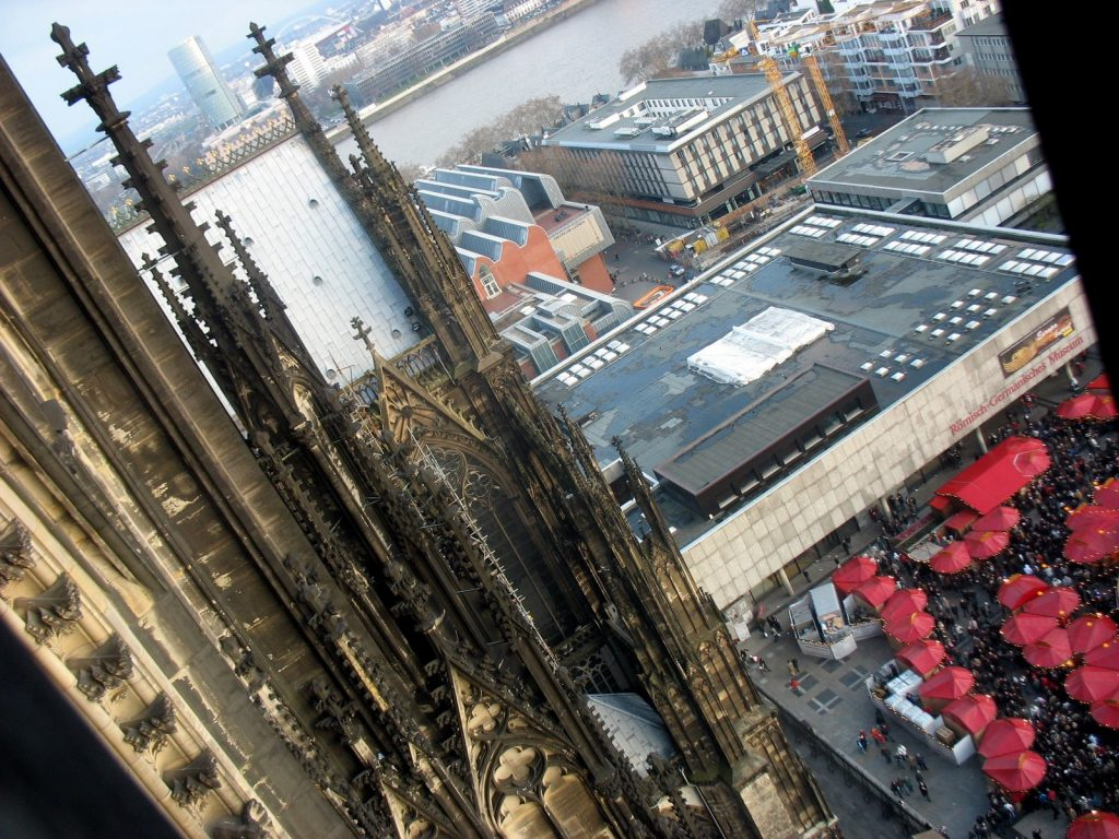 View from the Köln Dom in 2009, Germany