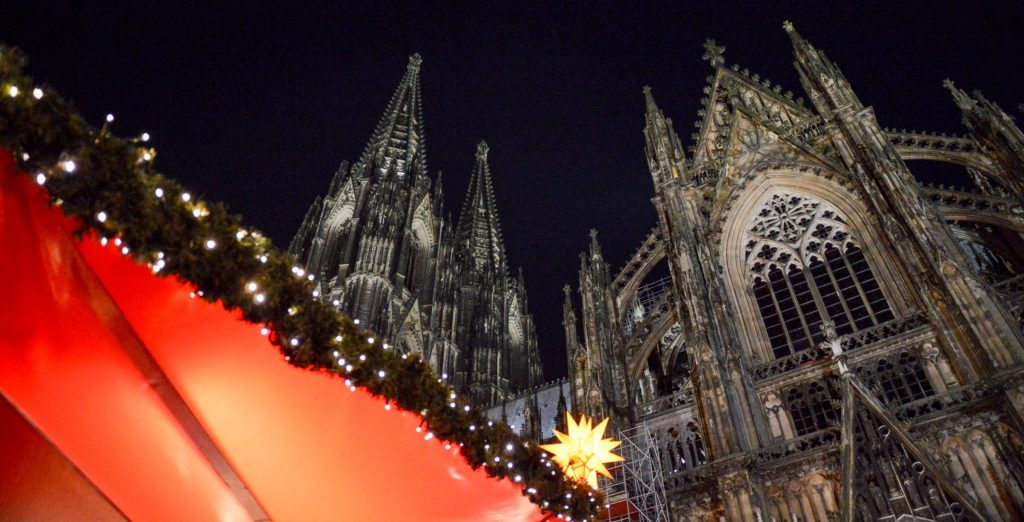 Christmas Market am Dom in Köln, Germany